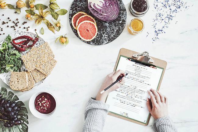 Cuaderno para mejorar tu relación con la comida